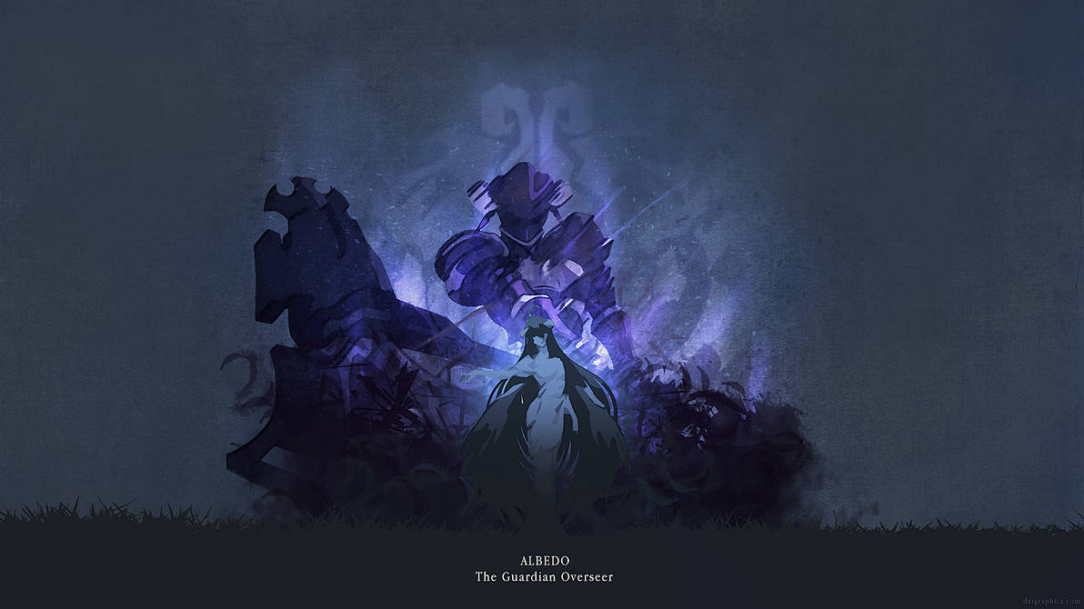 Overlord - Albedo FanArt by ATKNebula