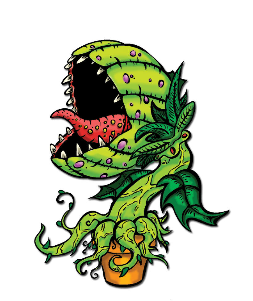 Artwork of Venus Flytraps from Around the Net : Drawings ...