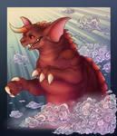 Baragon rises again! by Shon2