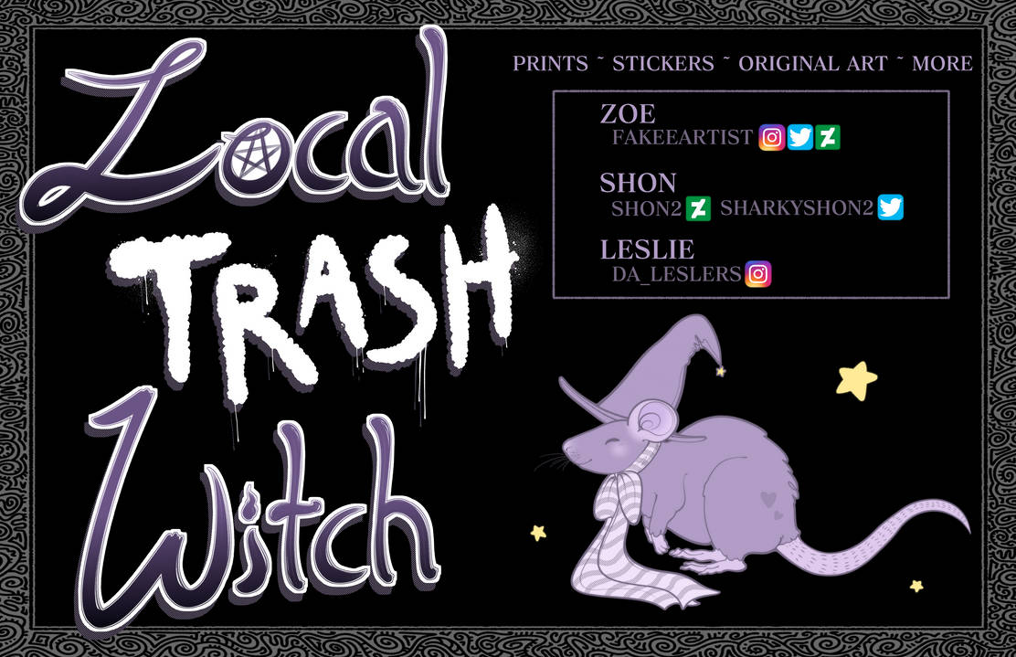 Local Trash Witch!