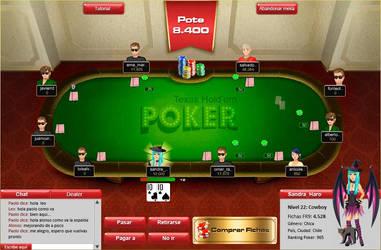 Poker Texas by SandraHaro