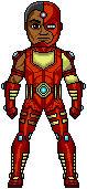 Cyber-Man - Cyborg + Iron Man Amalgam