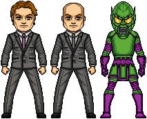 Goblin (Green Goblin + Lex Luthor Amalgam) by AlphaHero19