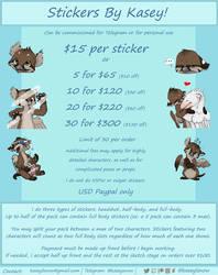 Sticker Rate Sheet