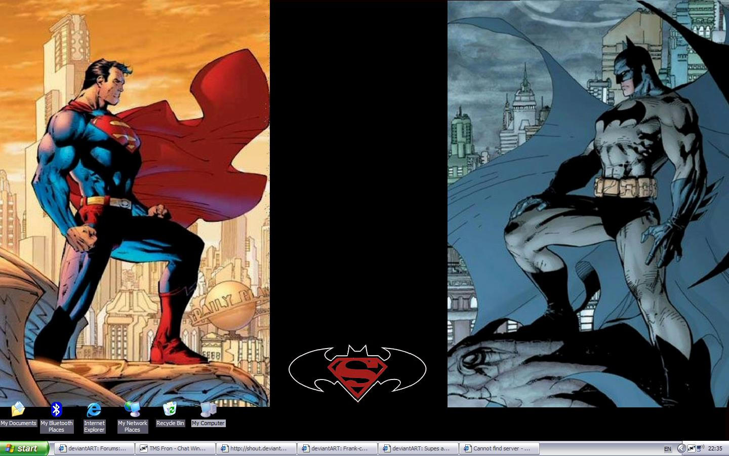 Batman and Superman by Frank-castle
