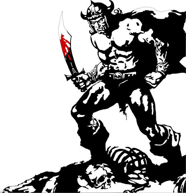 conan barbarian. Conan, The Barbarian by