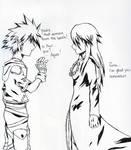 Sora and Aqua:Do you remember?