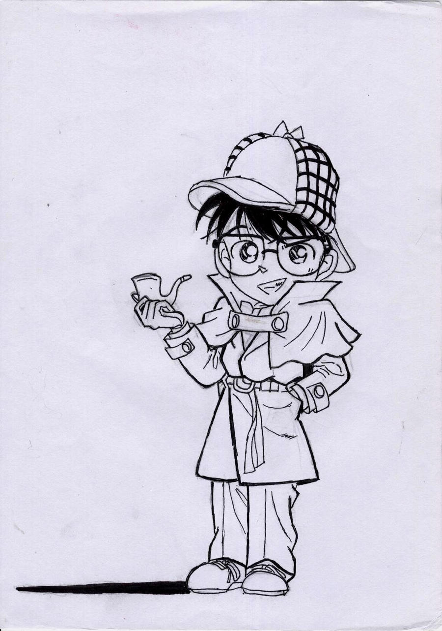 the boxcar children coloring pages - conane sherlock by boxcarchildren on deviantart