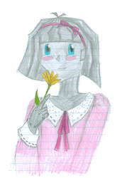 Alice an yellow flower by BoxcarChildren