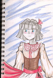Alice red dress-2 by BoxcarChildren