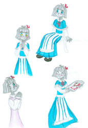 Alice a old fashion Robot girl by BoxcarChildren