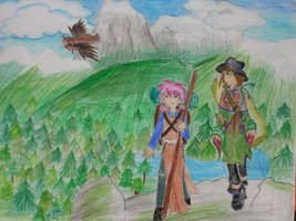 Wander of World's on a Cliff edge by BoxcarChildren