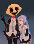 Lemon demon and Miku