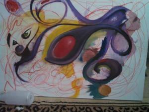 W.I.P painting