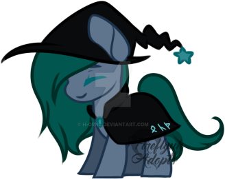 [50$ OFF, OPEN] Witch pony (+ free pixel doll) by Fireflys-Adopts