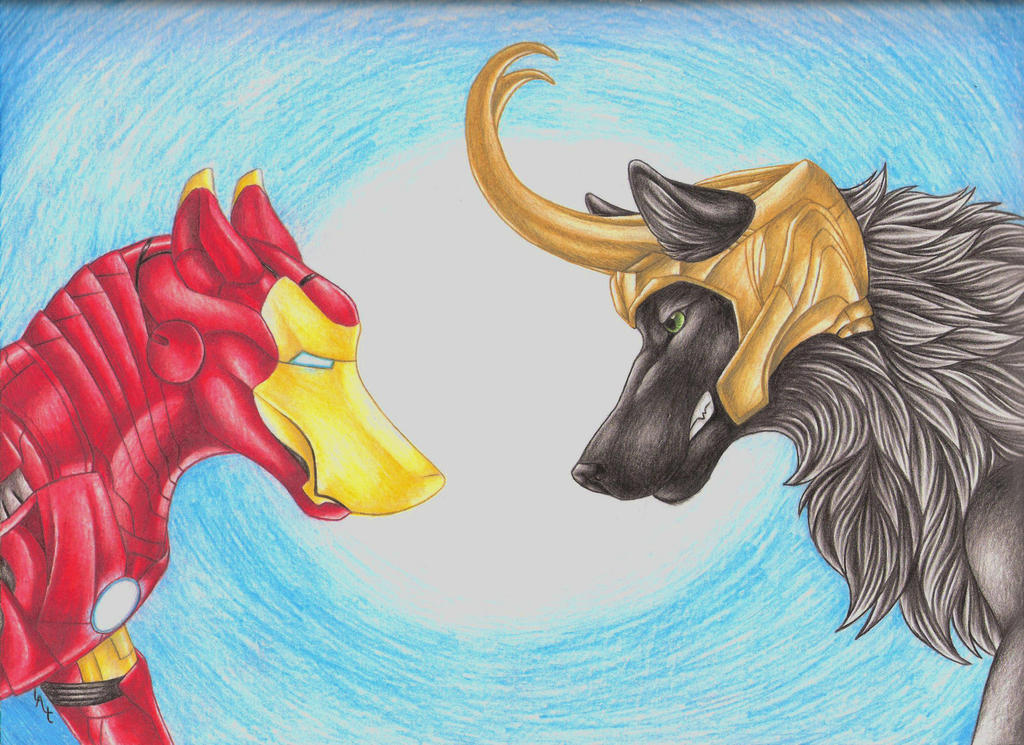 Frostiron Face Off by LifesATease