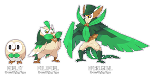 Fakeathon Day 1 - Rowlet Evolution