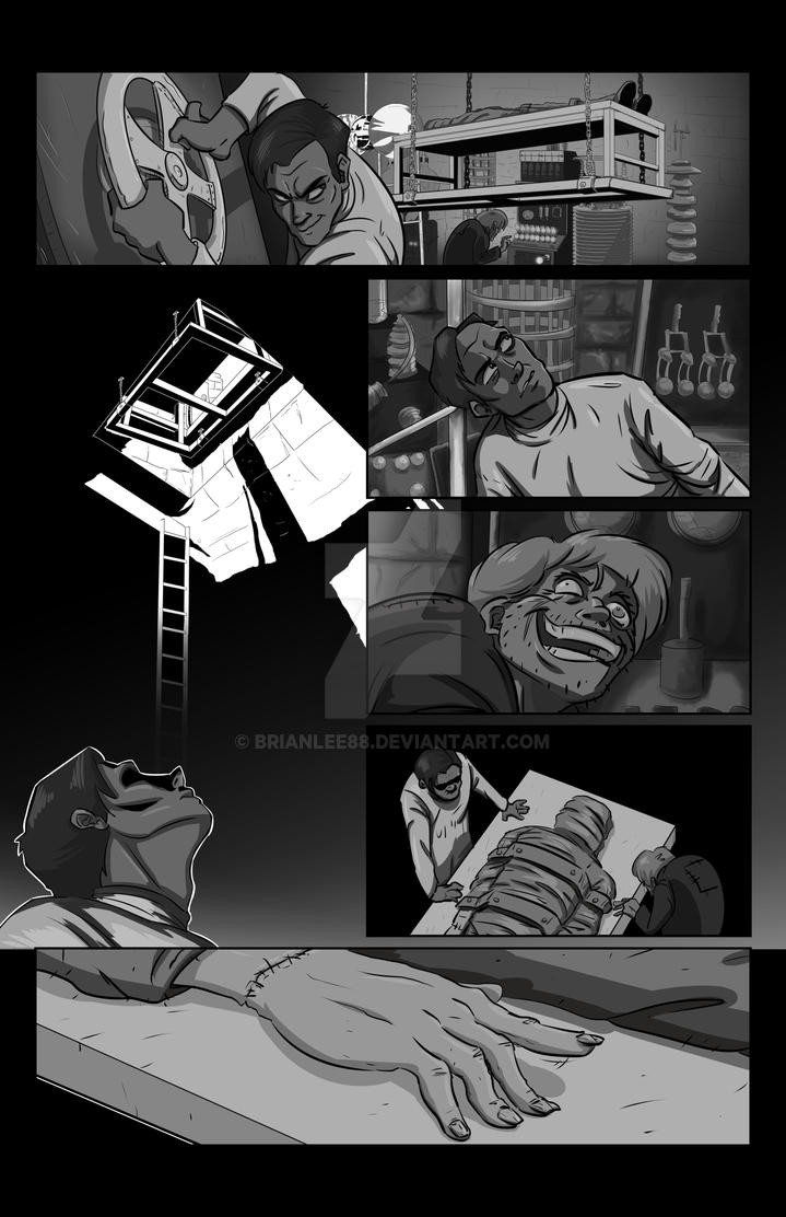 Mary Shelleys Frankenstein Page 3 By BrianLee88