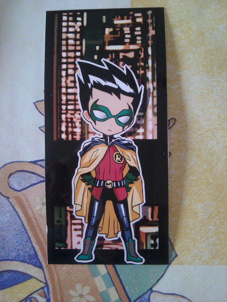 MIA: Robin bookmark by Tolina
