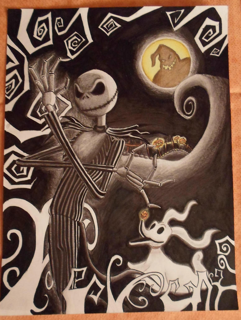Jack Skellington by Tolina