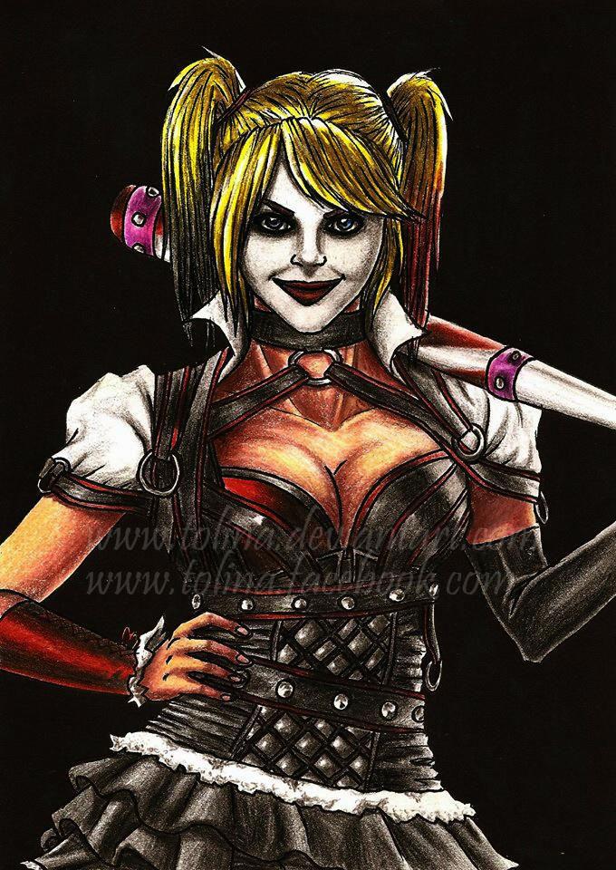 Harley Quinn - Arkham Knight design by Tolina