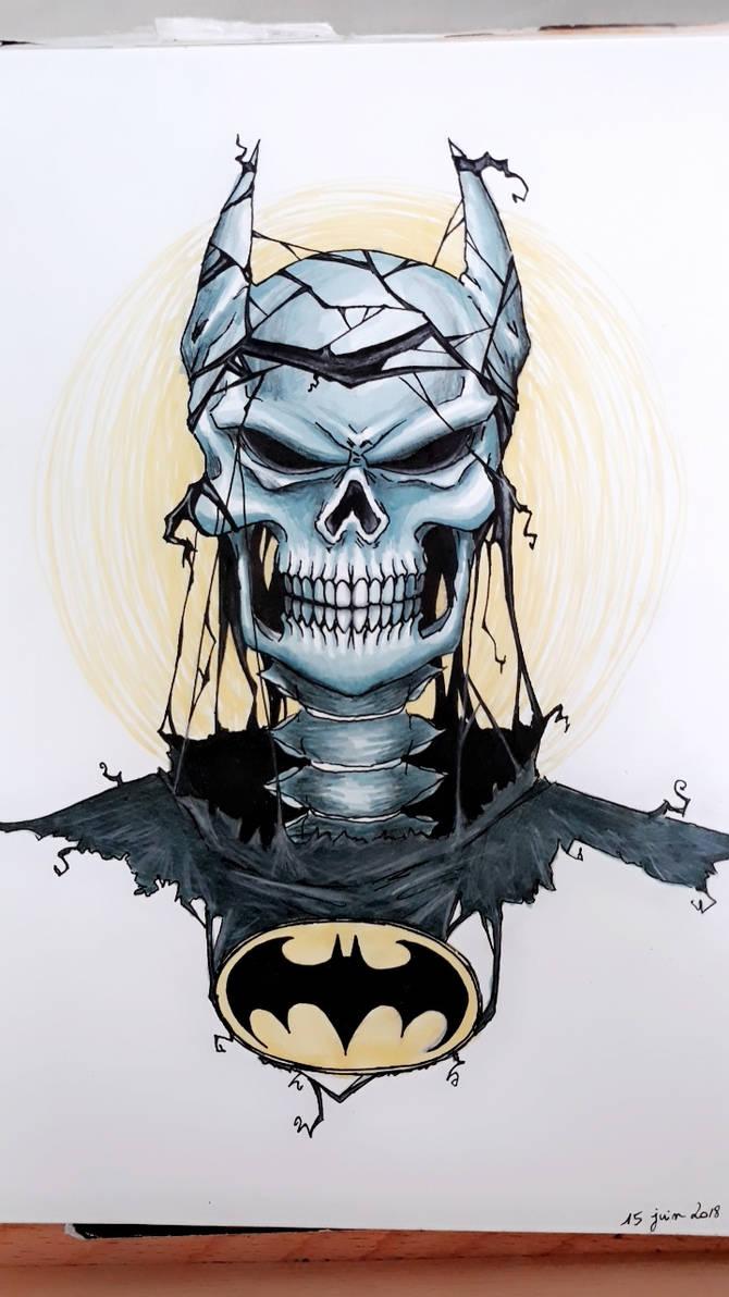 Bat-Skull by Tolina