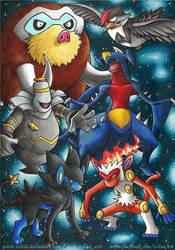Team Pokemon 04 by Tolina