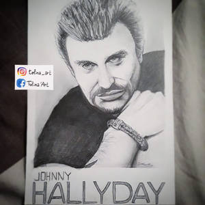 PORTRAIT - Johnny Halliday