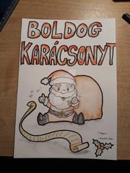 Christmas drawing 03