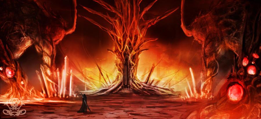 throne of Fire by legendary-memory on DeviantArt
