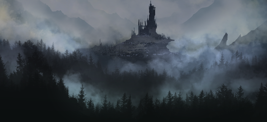 Dark Castle by legendary-memory
