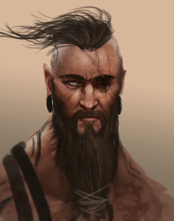 beard man by legendary memory on deviantart