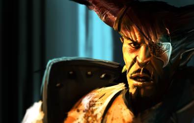 DA: Inquisition Ironbull by legendary-memory