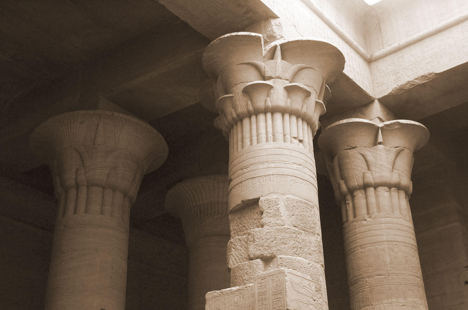 Ancient Egyptian Architecture Columns Exterior Egyptian Columns