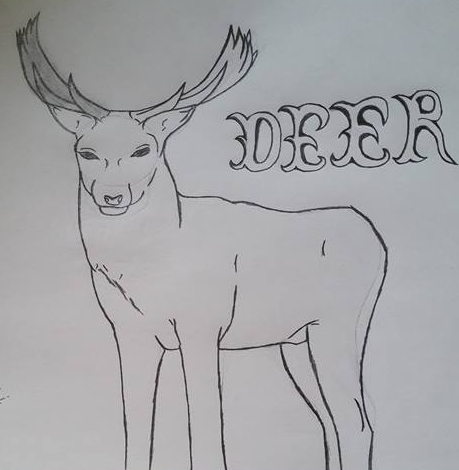 Deer by KeKitty