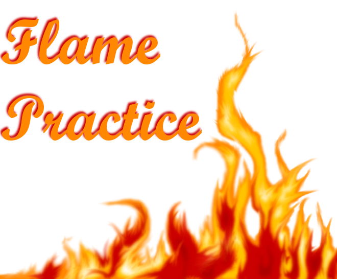 Flame Practice by KeKitty