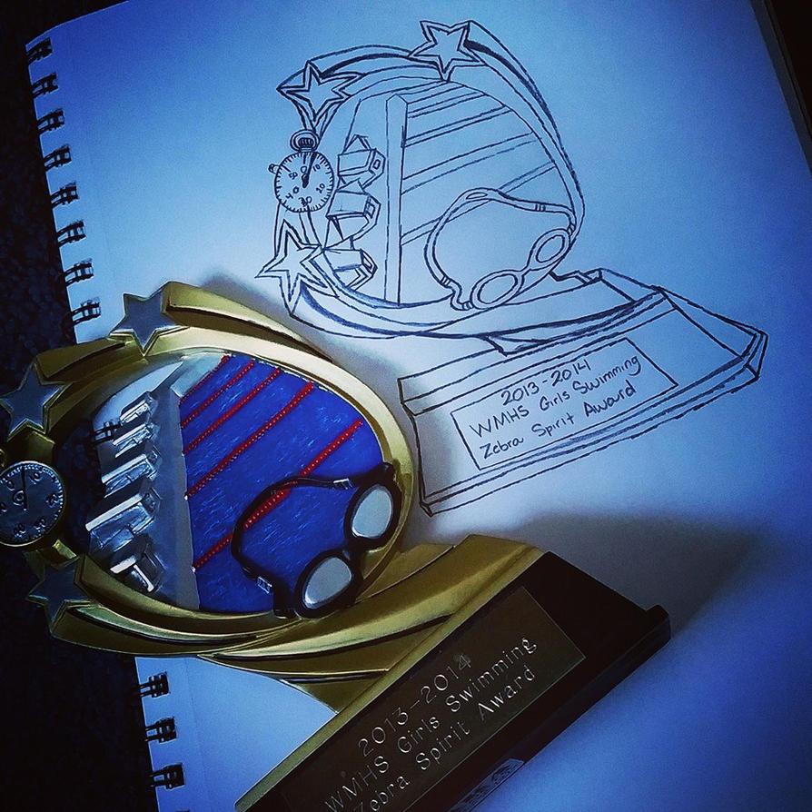 Swim Trophy by KeKitty
