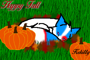Pumpkin Season by KeKitty