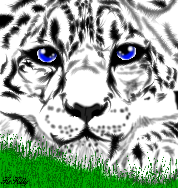 Realistic Tiger by KeKitty