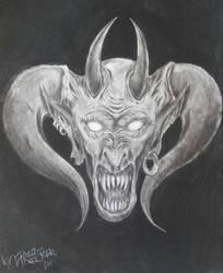The Devil's Head 2 by theblackalma13
