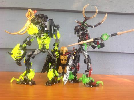 Hunter, Destroyer, and Master