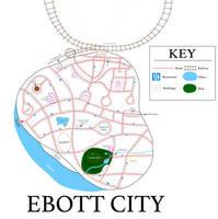 The Monster That Time Forgot- Ebott City Map