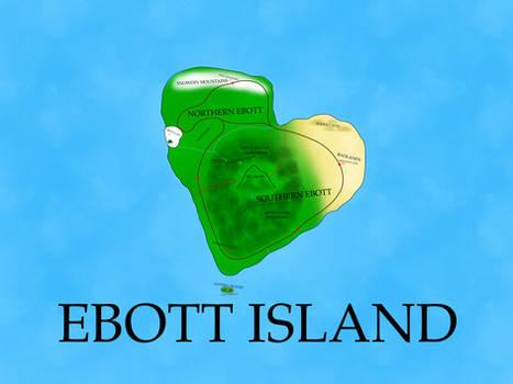 Ebott Island Map (My AU)