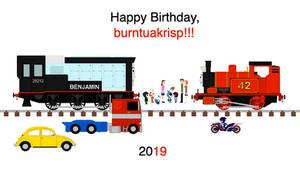 Happy Birthday, burntuakrisp 6!