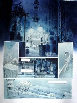 Comic book page 1