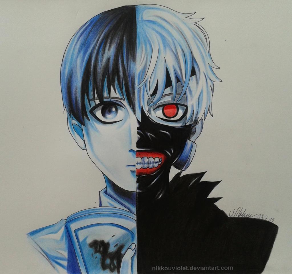 Tokyo Ghoul Kaneki Ken By NikkouViolet On DeviantArt