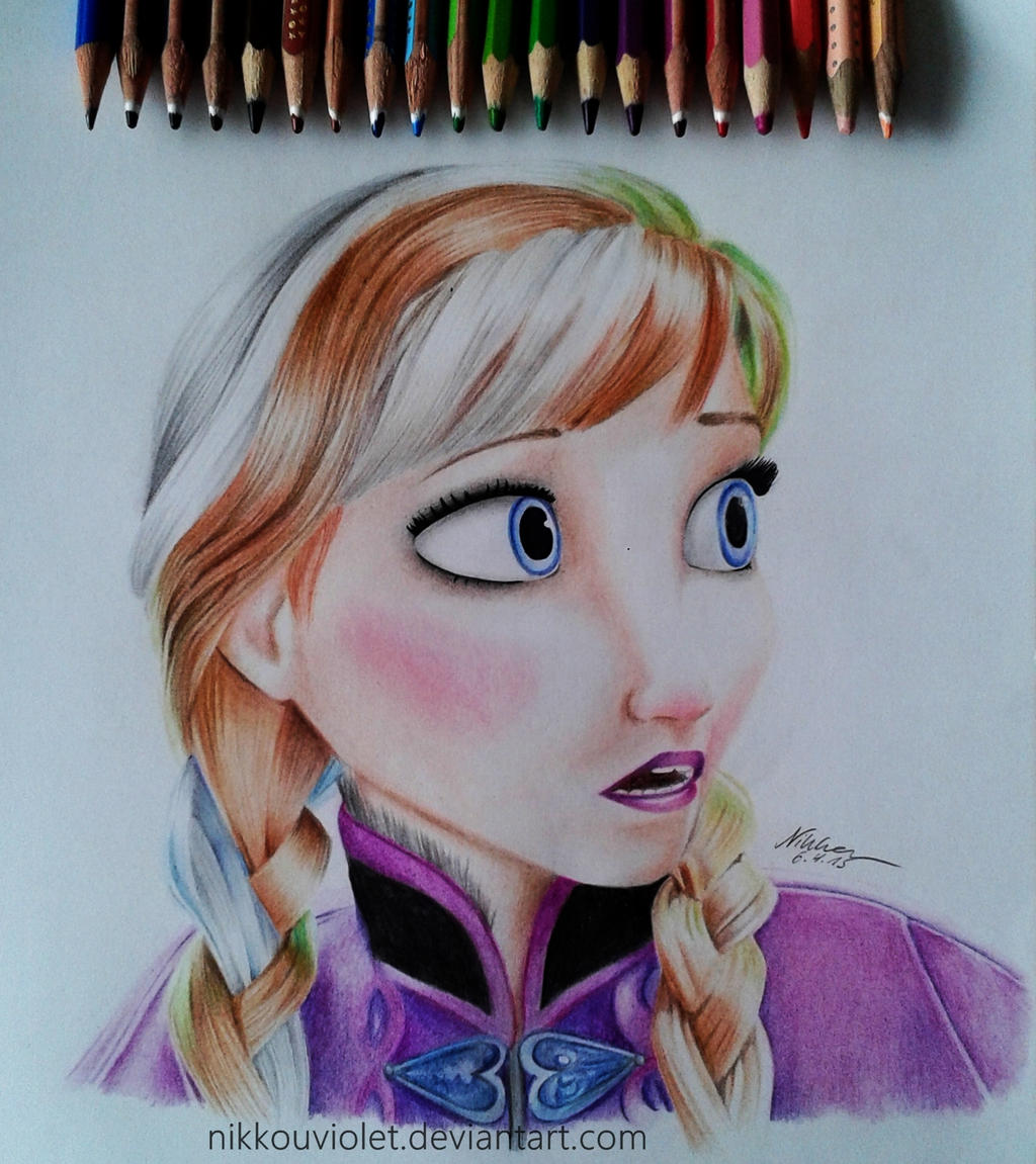 Anna - Frozen by NikkouViolet