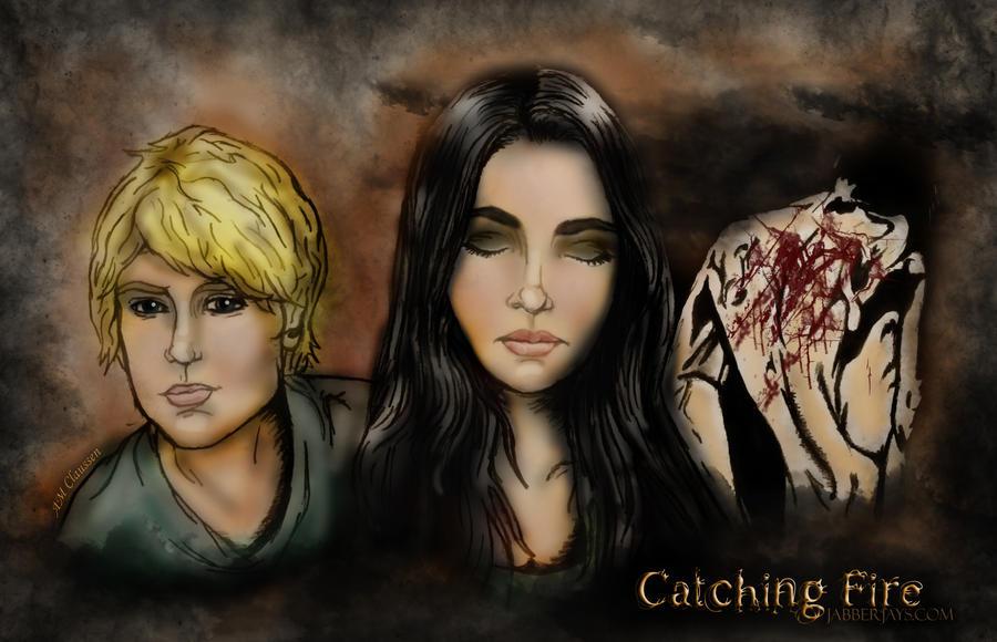 Catching Fire Wallpaper by AMClaussen
