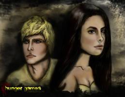 Hunger Games Wallpaper by AMClaussen