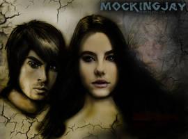 Mockingjay Wallpaper by AMClaussen
